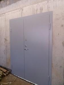 Garažo šarvo durys