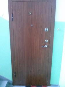 Buto šarvo durys