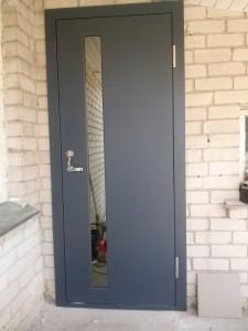 Lauko šarvo durys su MDF plokštę