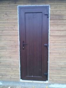 PVC durys